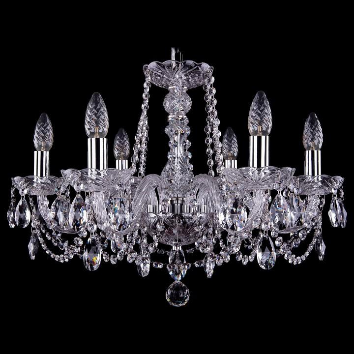 Подвесная люстра Bohemia Ivele Crystal 1402/6/195/Ni 1402