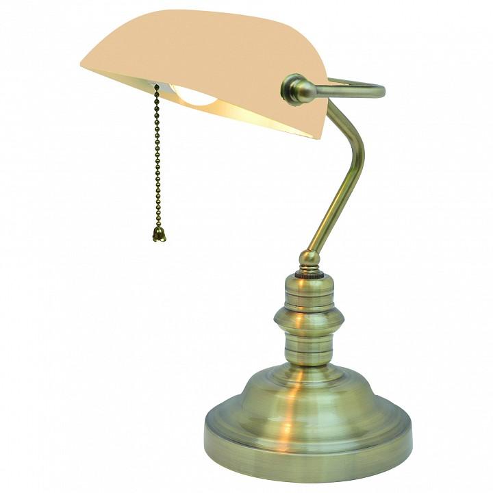 Настольная лампа офисная Arte Lamp Banker A2493LT-1AB настольная лампа офисная arte lamp banker a2493lt 1ab