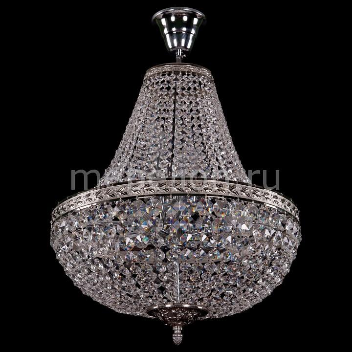 Люстра на штанге Bohemia Ivele Crystal 2150/40/Ni 2150