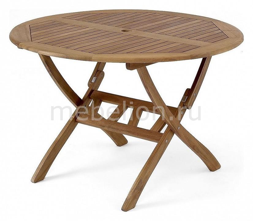 Стол для сада Brafab Стол обеденный Everton 10743 коричневый стол обеденный cosmo tulip темно коричневый белый