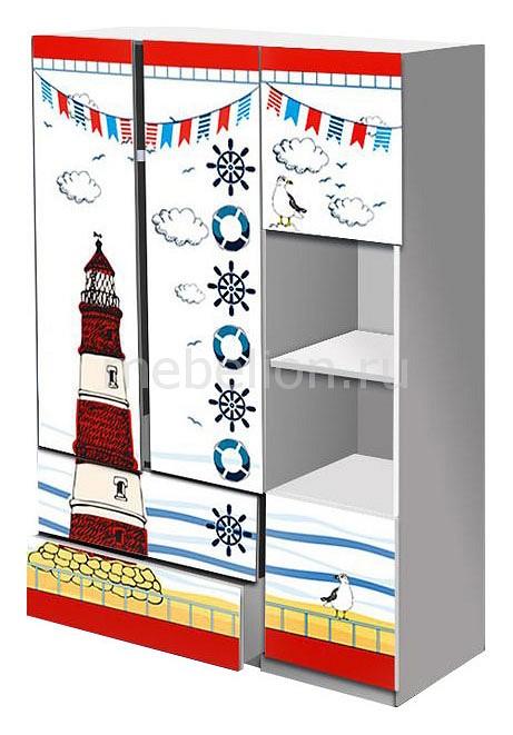 Шкаф платяной Кровати-машины Морское путешествие ШППM01 отсутствует морское наследие 2 2013