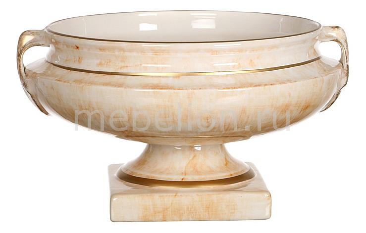 Чаша декоративная АРТИ-М (21х21 см) Ирис мрамор 742-264 ваза настольная арти м 20х18 см ирис 327 048