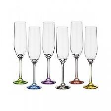 Набор для шампанского АРТИ-М из 6 шт. Rainbow 674-416