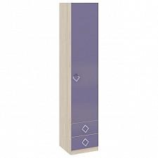 Шкаф для белья Аватар СМ-201.13.001 каттхилт/лаванда
