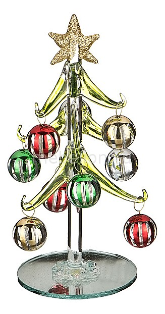 Ель новогодняя с елочными шарами АРТИ-М (15 см) ART 594-102 ель новогодняя с елочными шарами арти м 15 см art 594 045
