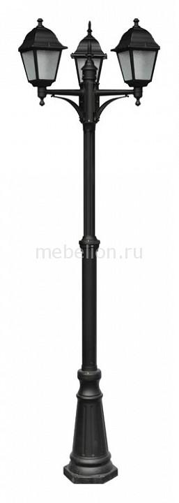 Фонарный столб Arte Lamp Bremen A1017PA-3BK arte lamp a7144pl 3bk