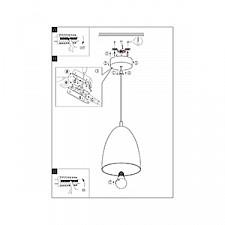 Подвесной светильник Eglo 94744 Coretto 2