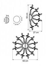 Накладной светильник Lightstar 890659 Medusa