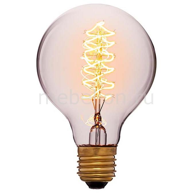 Лампа накаливания Sun Lumen G80 E27 240В 60Вт 2200K 053-525