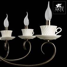 Подвесная люстра Arte Lamp A6380LM-8AB Teapot