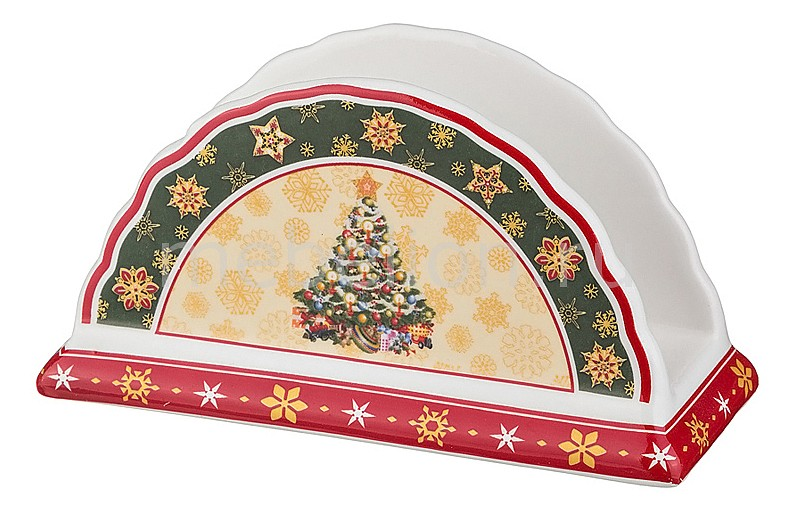 Салфетница (14х6х8 см) Christmas collection 586-063