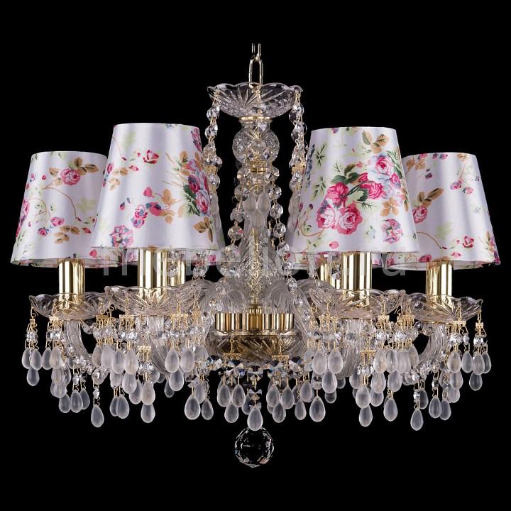 Подвесная люстра Bohemia Ivele Crystal 1410/6/160/G/V0300/SH28 1410