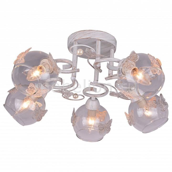 все цены на  Потолочная люстра Arte Lamp Alessandra A5004PL-5WG  онлайн