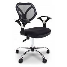 Кресло компьютерное Chairman 380 черный/хром, черный