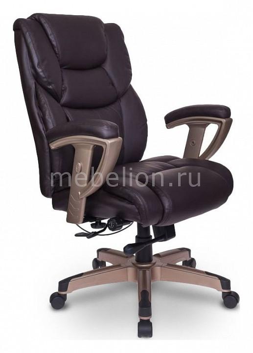 Кресло для руководителя Бюрократ T-9999/BROWN кресло для руководителя бюрократ t 9999 brown