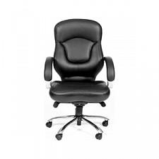 Кресло компьютерное Chairman 430 черный/хром, черный