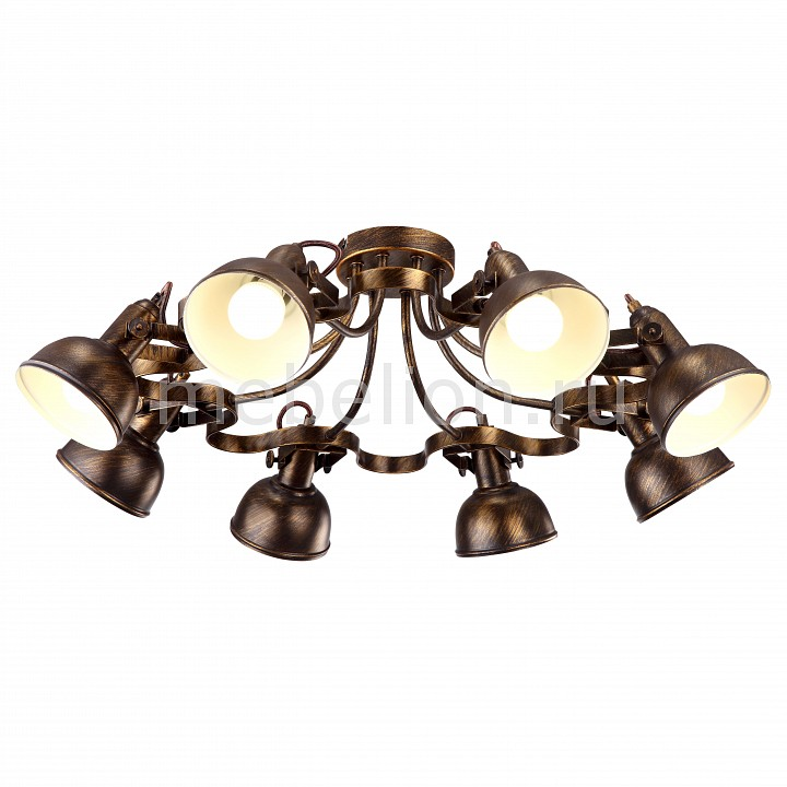 Светильник на штанге Arte Lamp Martin A5216PL-8BR