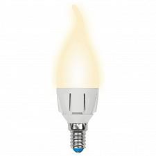 Лампа светодиодная E14 220В 7Вт 3000K LEDCW377WWWE14FRPLP01WH