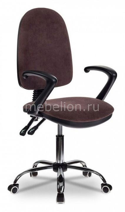 Кресло компьютерное Бюрократ T-610/BROWN бюрократ кресло компьютерное t 700y or 13