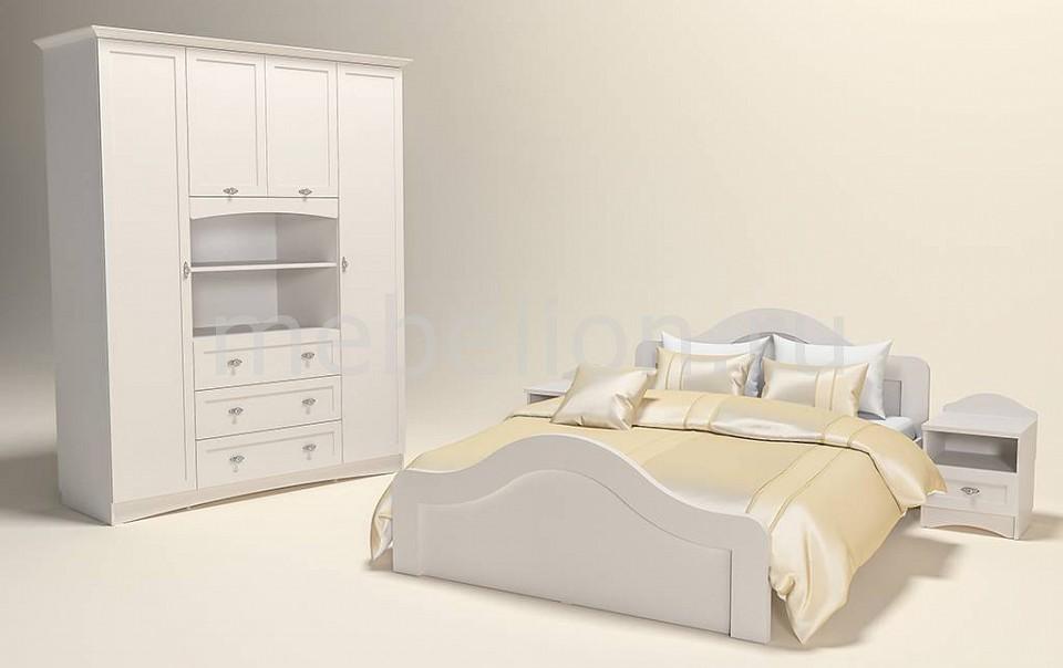 Гарнитур для спальни Сильва Прованс-4 шкаф комбинированный прованс нм 009 23