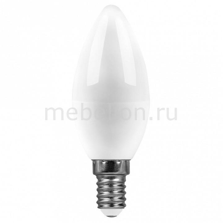 Лампа светодиодная [поставляется по 10 штук] Feron Лампа светодиодная E14 220В 7Вт 4000 K SBC3707 55031 [поставляется по 10 штук] цена