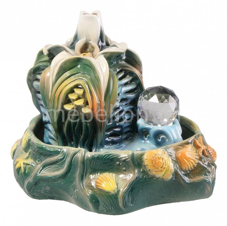 Фонтан настольный interier-ex (30х23х22 см) Каменный цветок Ф29