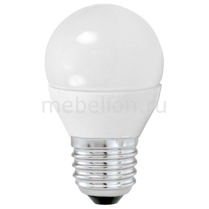 Лампа светодиодная [поставляется по 10 штук] Eglo Лампа светодиодная G45 E27 4Вт 3000K 10762 [поставляется по 10 штук] лампа светодиодная camelion led3 g45 830 е14