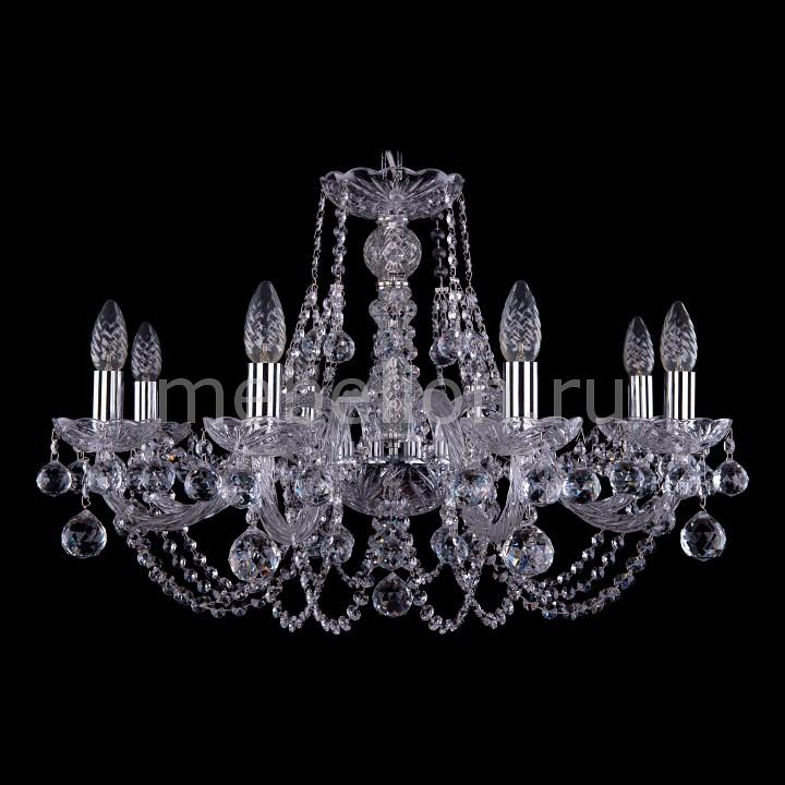 Подвесная люстра Bohemia Ivele Crystal 1406/8/240/Ni/Balls 1406