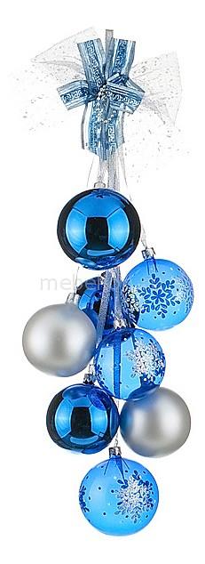 Елочная игрушка (50 см) Снежинка 860-323
