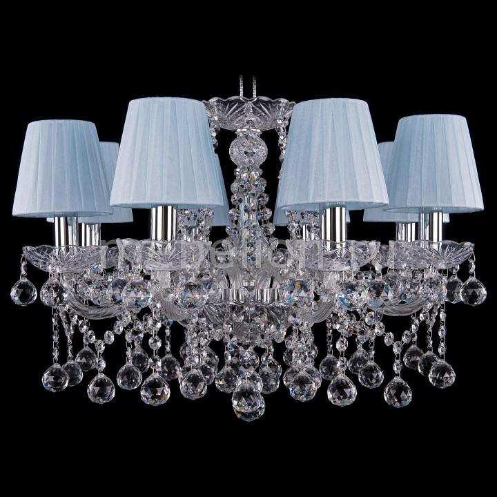 Подвесная люстра Bohemia Ivele Crystal 1413/8/200/Ni/Balls/SH4 bohemia ivele crystal 1413 8 200 ni balls