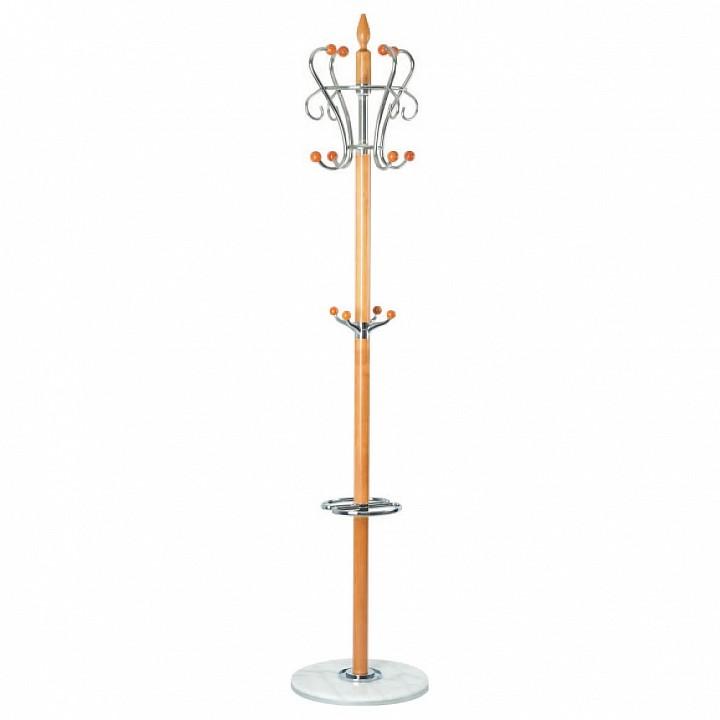 Вешалка-стойка XY-019 бежевый/хром