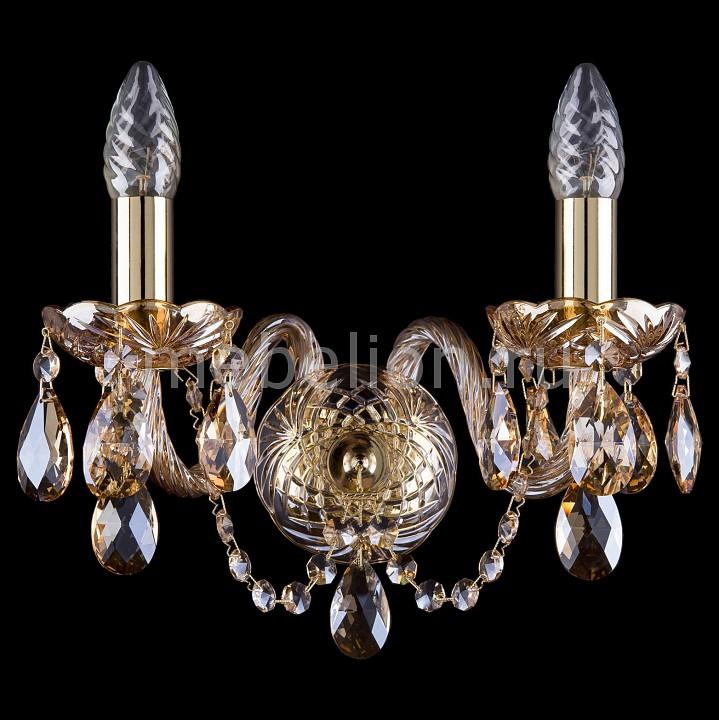 Бра Bohemia Ivele Crystal 1402B/2/141/G/M721