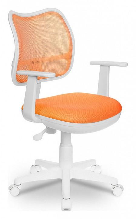 Кресло компьютерное Бюрократ Бюрократ CH-W797 оранжевое