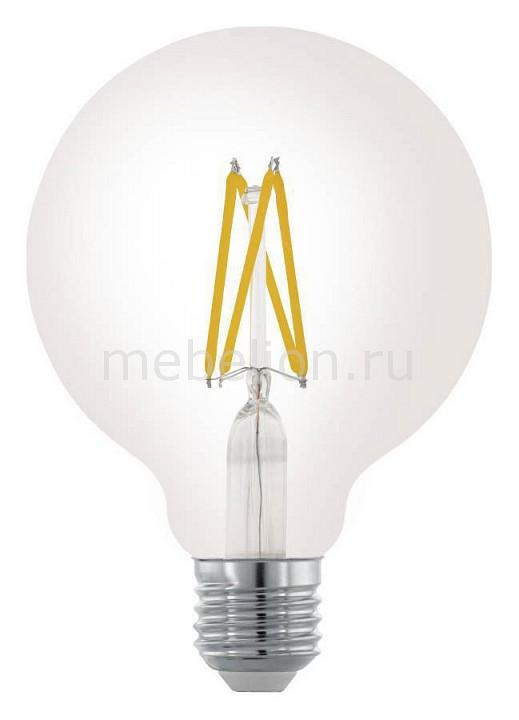 Лампа светодиодная Eglo Винтаж E27 220В 6Вт 2700K 11703 лампа светодиодная eglo винтаж 11707