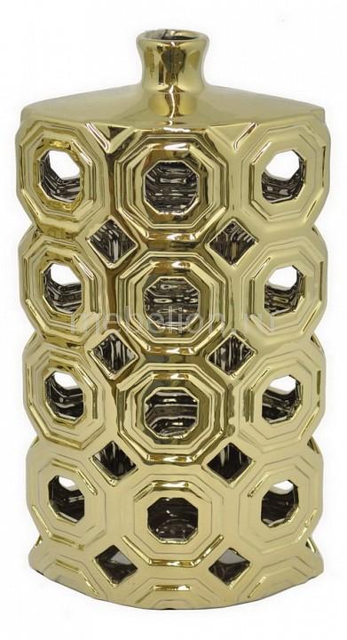 Ваза настольная (29 см) Black & Gold 25370