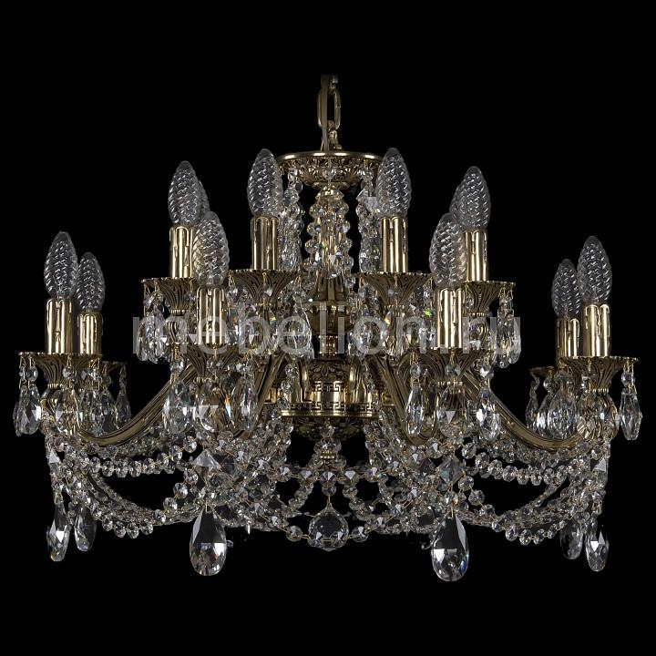 Подвесная люстра Bohemia Ivele Crystal 1703/16/225/C/GB 1703