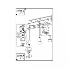 Подвесной светильник Eglo 93928 Fabiana 1