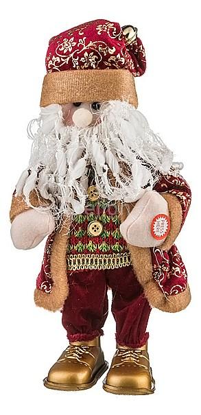 Мягкая игрушка АРТИ-М (35 см) Санта 861-001 елочная игрушка арти м 67 см вероника 860 030