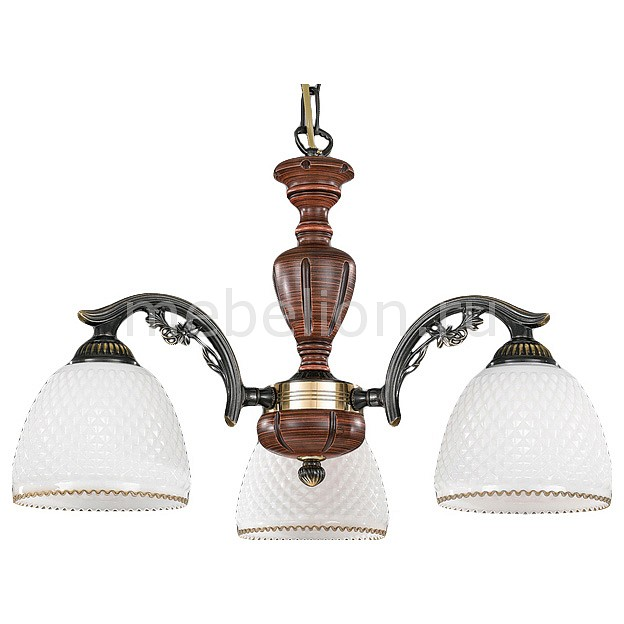 Подвесная люстра Reccagni Angelo L 8611/3 подвесной светильник reccagni angelo rosa 8611 l 8611 14
