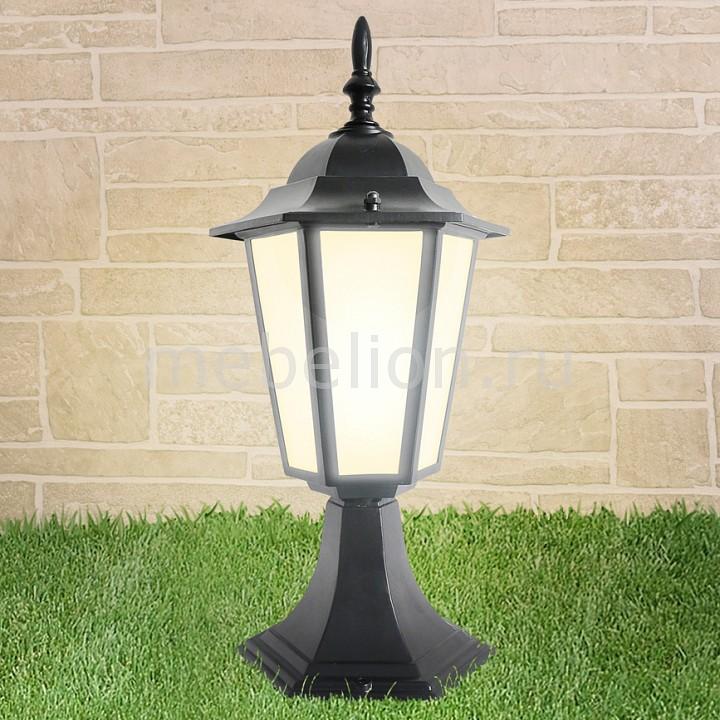Наземный низкий светильник Elektrostandard GL 1004S черный elektrostandard gl 1004h черный