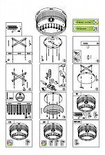 Накладной светильник Globo 68560-8 Insignis