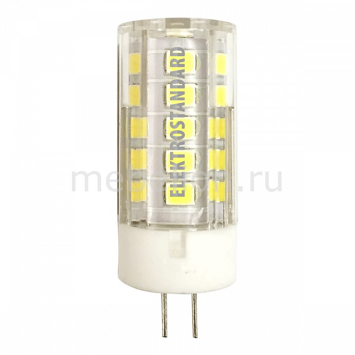 Лампы светодиодная Elektrostandard G4 LED 5W 220V 3300K jrled e14 5w 330lm 3300k 64 smd 3014 led warm white light bulb ac 220 240v