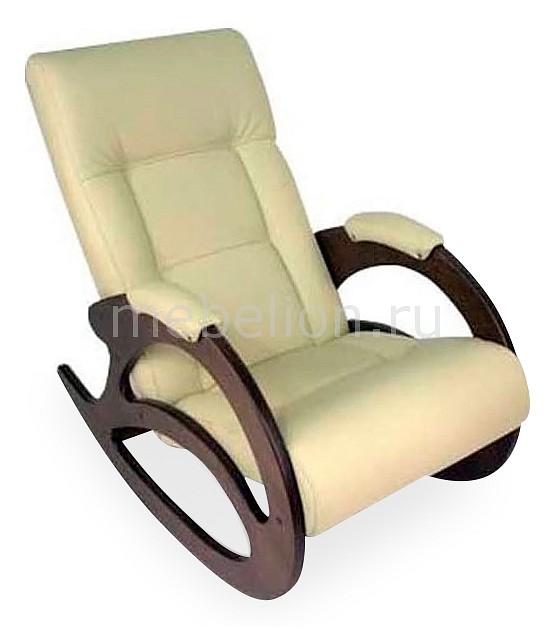Кресло - качалка Тенария 1 эко-кожа/слоновая кость mebelion.ru 8970.000
