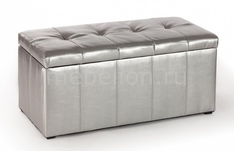 Пуф ПФ-3 серебро mebelion.ru 4390.000