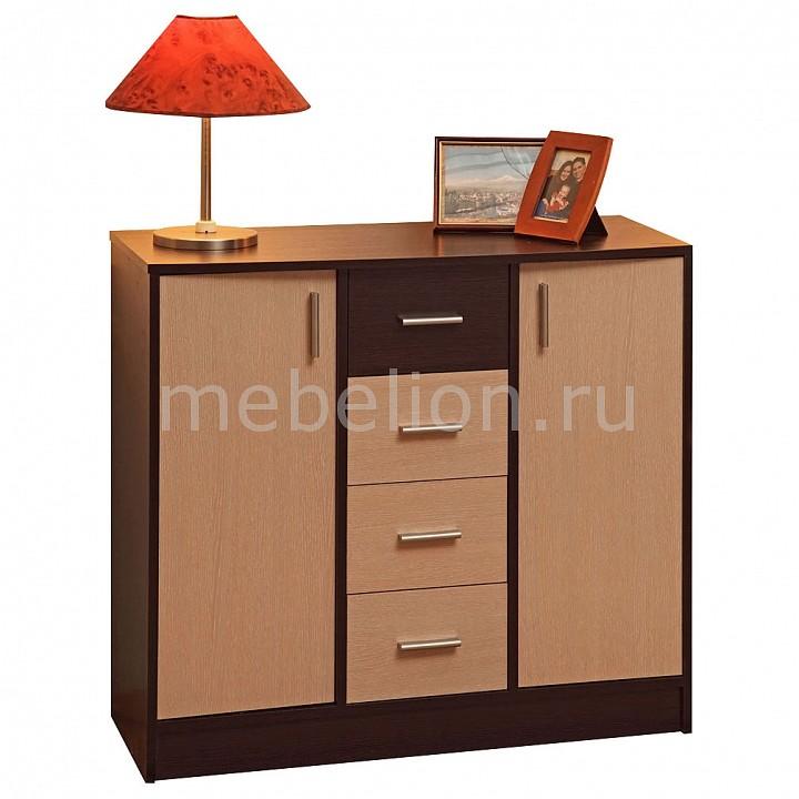 Купить Тумба Дуэт-3 венге/дуб линдберг, Олимп-мебель, Россия