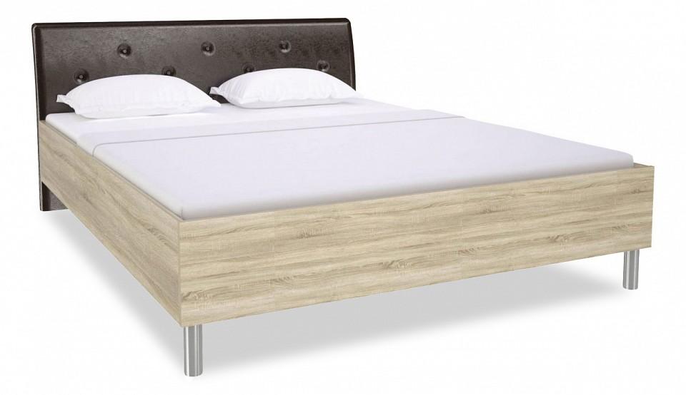 Кровать двуспальная Ирма СТЛ.143.06 дуб сонома