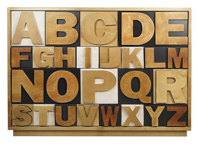 Купить Комод Alphabeto Birch, Этажерка, Россия