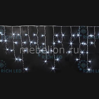 Бахрома световая (3x0.5 м) RichLED RL-i3*0.5F-CW/W бахрома световая 3х0 5 м richled rl i3 0 5f rw w