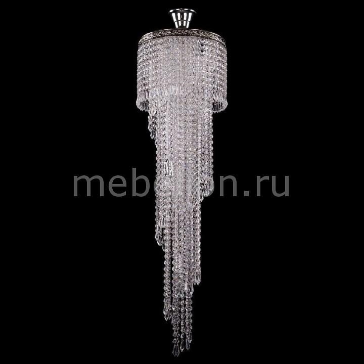 Люстра на штанге Bohemia Ivele Crystal 8311/30/100/Ni 8311