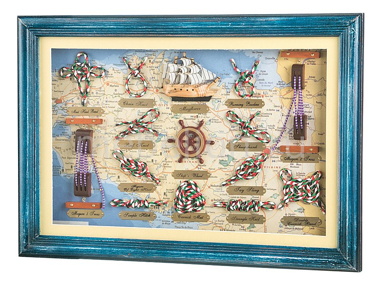 Панно АРТИ-М (47х33 см) Морской узел 271-122 кольца колечки кольцо анжелика авантюрин
